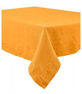 Serviette de table 41x41cm en lin beige nais
