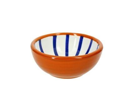 Coupelle Majorelle en terre cuite bleue Ø10 cm