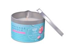 Achat en ligne Bougie de massage à la rose