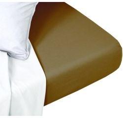 Achat en ligne Drap housse 160x200cm coton foin