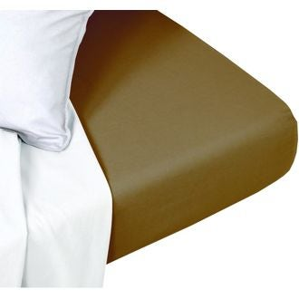 Drap housse 180x200cm coton foin