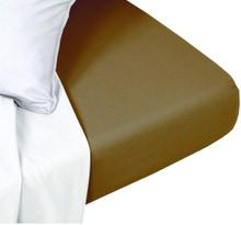 Achat en ligne Drap housse 180x200cm coton foin