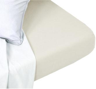 Drap housse 160x200cm coton ficelle