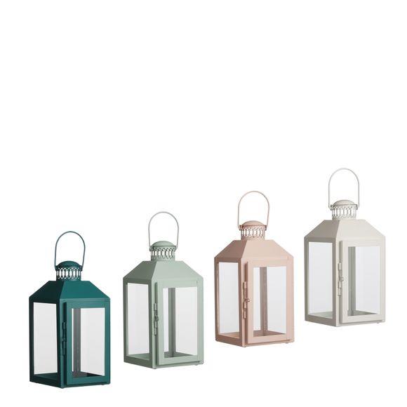 Lanterne Steffano assorti L13XB12XH25cm