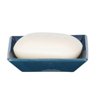 Porte-savon céramique bleu cordoba