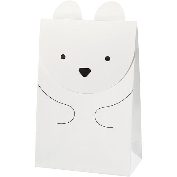Sac ours polaire 6 pièces