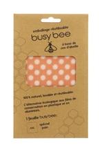 Achat en ligne Emballage réutilisable busy bee cire d'abeille x1 feuille XL