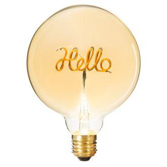 Ampoule deco hello