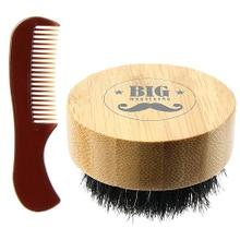 Achat en ligne Coffret peigne et brosse à barbe