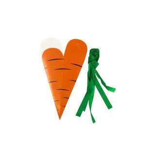 Scatole a forma di carota, 4 pz.
