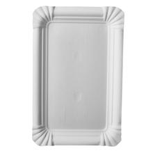 Achat en ligne 20 assiettes rectangle blanc 13x20 cm