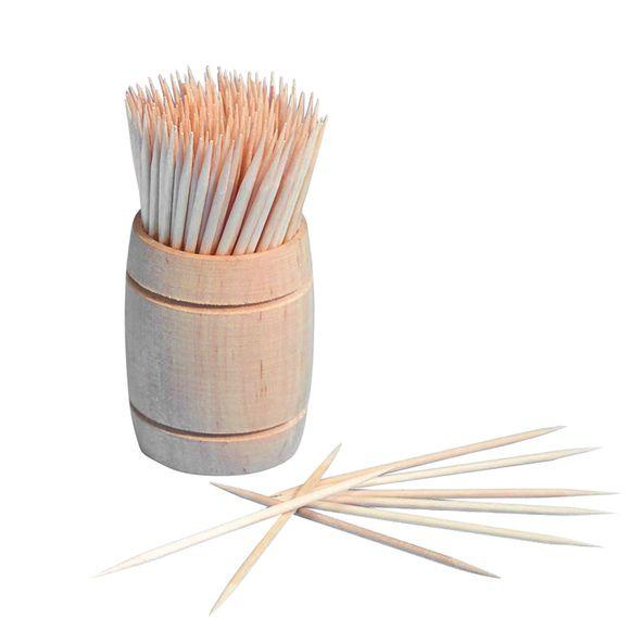 200 cure-dents en bois 6,8 cm