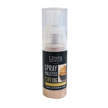 Achat en ligne Spray paillettes dore patisdecor 10g