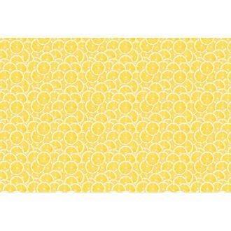 Chemin de table citron 0,3x3 m