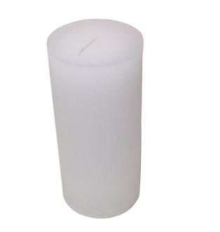 Bougie cyl 7x15cm blanc