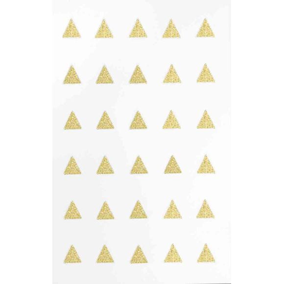 Transfert textile triangle or 30 pcs