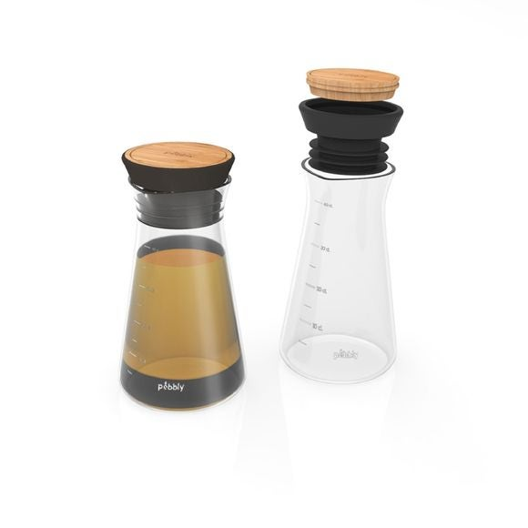 Shaker vinaigrette en verre 40cl