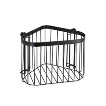 Achat en ligne Etagère d'angle acier noir Classic Plus 23,5x16,5x18,5 cm