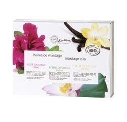 Achat en ligne Coffret huiles de massage BIO