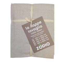 Achat en ligne Nappe antitache 150x200cm en coton ficelle Tonic