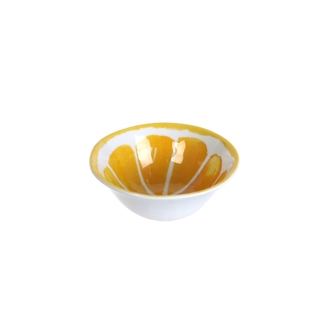 Coupelle melamine citrus 12cm