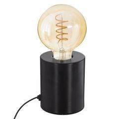 Achat en ligne Lampe métal tube noir H10