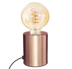 Achat en ligne Lampe métal tube cuivre H10