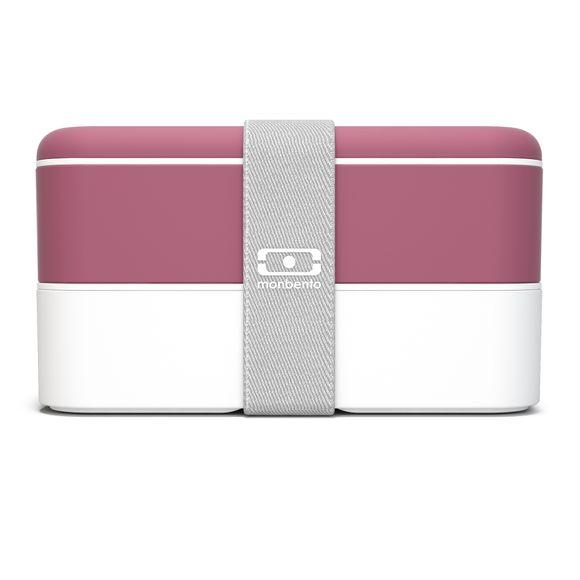 Lunch box avec 2 compartiments blush 1L