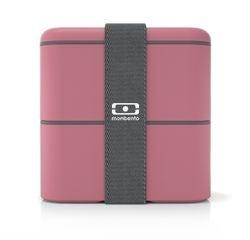 Achat en ligne Boîte carrée avec 2 compartiments blush 1,7L