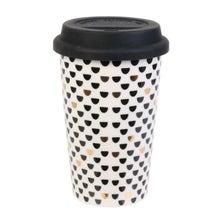 Achat en ligne Travel mug sunset noir et doré 25cl