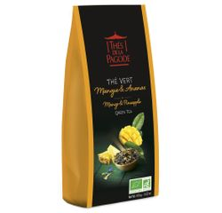 Achat en ligne Sachet thé vert mangue ananas 100g