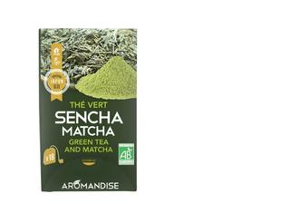 Thé vert sencha matcha vrac 36g