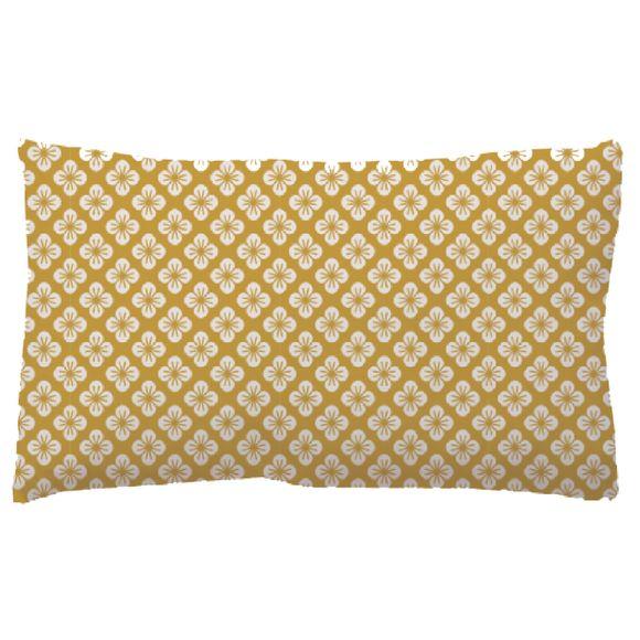 Achat en ligne Coussin Flory jaune rurbain 25x40cm