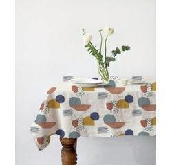 acquista online Tovaglia in cotone stampato multicolore 150x250 cm