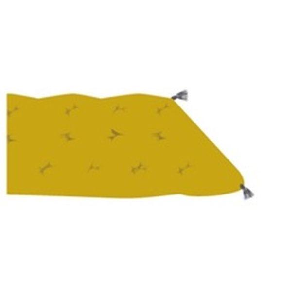 Futon curry pratique artistique 60x120cm