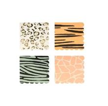 Achat en ligne 16 serviettes assortiment de motifs Safari