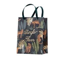compra en línea 4 bolsas de sorpresas verde y dorado de jungla (20 x 15 x 9 cm)