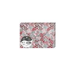 Achat en ligne Paquet de 20 enveloppes Pollen 11,4x16,2 Florale Camelia