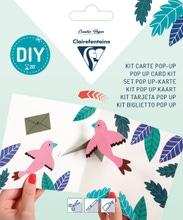 Achat en ligne Kit Pop-Up carte pliée 13,5x13,5+ enveloppe Félicitations