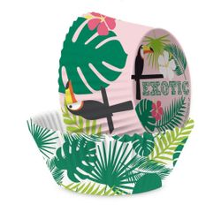 acquista online Set di 36 pirottini tropical