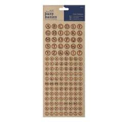 Achat en ligne Stickers en liège alphabet (126pcs) Bare Basics