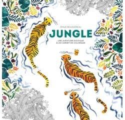Achat en ligne Livre de coloriage jungle