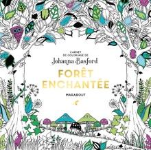 Achat en ligne Le petit livre de coloriages Forêt enchantée
