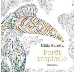 Achat en ligne Le petit livre de coloriages Forêt tropicale