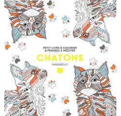 Achat en ligne Le petit livre de coloriages Chatons