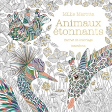 Achat en ligne Livre de coloriage animaux étonnants