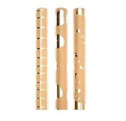 Achat en ligne Rouleau de papier cadeau kraft motif foil doré 0,7x2m