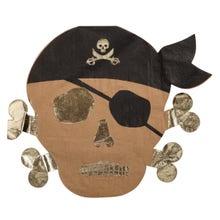 Achat en ligne 16 Serviettes forme pirate