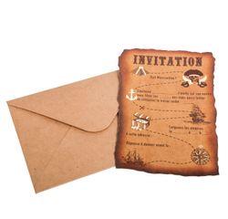 Achat en ligne 8 Invitations pirate
