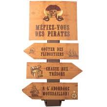 Achat en ligne Panneau directionnelles pirate